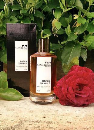 Парфюмированная вода roses vanille mancera (распив разлив)