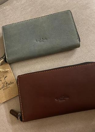 Продам оригинальний кошелек гаманець шкіряний gusti leder studio