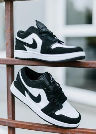 Nike air jordan 1 low 🍏 стильные женские кроссовки найк джордани