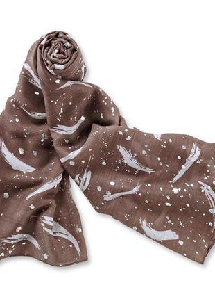 Незаменимый вариант в гардеробе - объемный шарф палантин tchibo, германия
