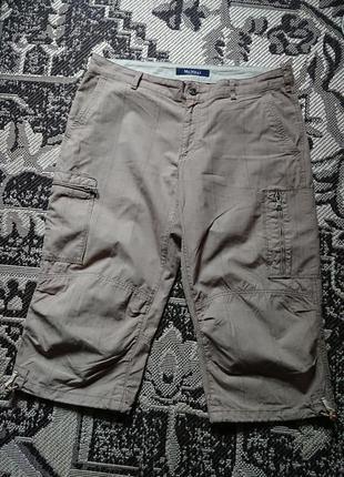 Фірмові англійські котонові шорти бріджі mcneal,нові,розмір 52(l-xl).