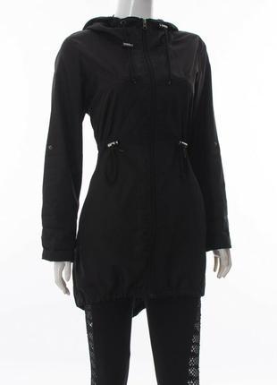 Denim co женская куртка-парка с капюшоном на молнии, парка, дождевик, ветровка