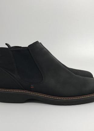 Фирменные ботинки челси ecco нубук