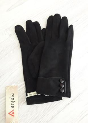 Жіночі осінні рукавички з сенсором