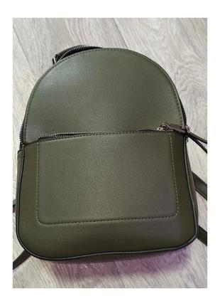 Рюкзак цвета хаки, stradivarius