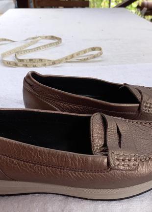 Туфли мокасины geox 38р