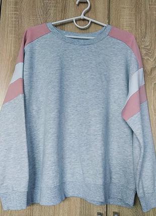 Стильный свитшот кофта кофточка толстовка размер 54-56