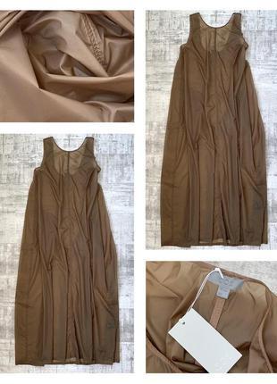 Новое свободное длинное платье cos пляжное платье свободного кроя оверсайз