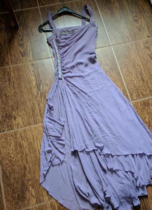 Laurel люкс бренд вечернее платье шелк винтаж