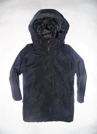 Теплая деми куртка, парка next 2016 г, указано 4 г