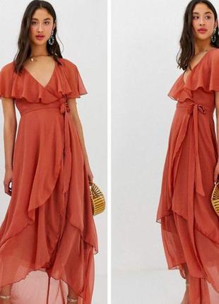 Нарядное платье бренда asos