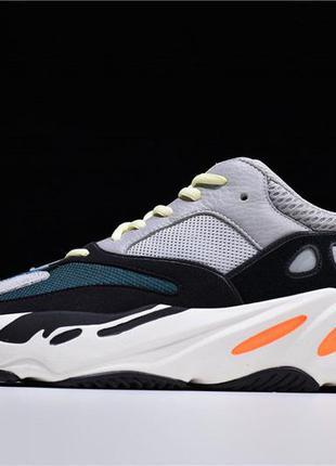 Adidas yeezy boost 700 wave runner og solid grey orange мужские