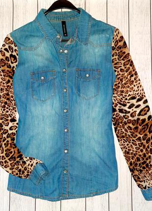 Рубашка/блузка reserved 38