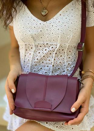 Красивая сумка с эко кожи