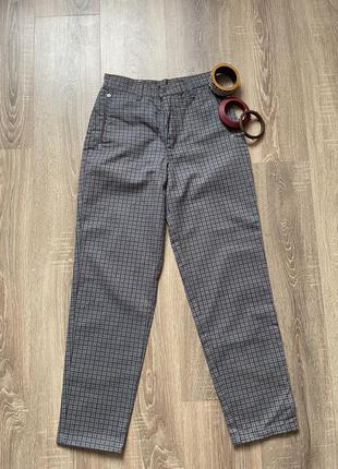 Винтажные джинсы в клетку