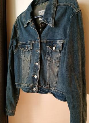 Джинсовая куртка стрейч