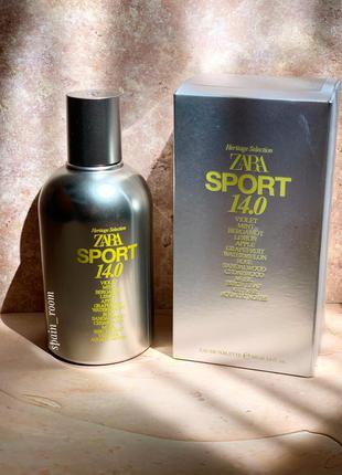 Мужские духи zara sport 14.0/чоловічі парфуми /туалетна вода /парфюм