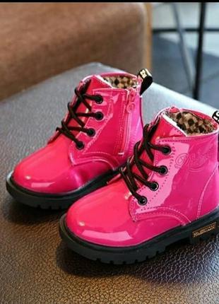 Красивые лаковые ботиночки