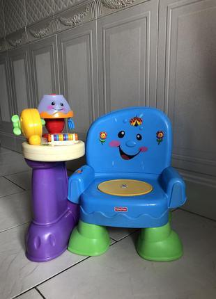 Крісло музикальне