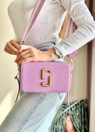 Женская сумочка marc jacobs violet фиолетового цвета