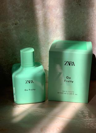Духи zara go fruity /жіночі парфуми/туалетна вода