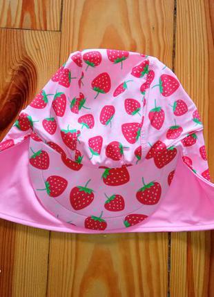 Детская солнцезащитная кепка панамка пляжная для девочки