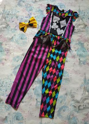 Карнавальный костюм на хэллоуин,клоунесса