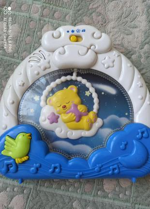 Музыкальный ночник для малыша