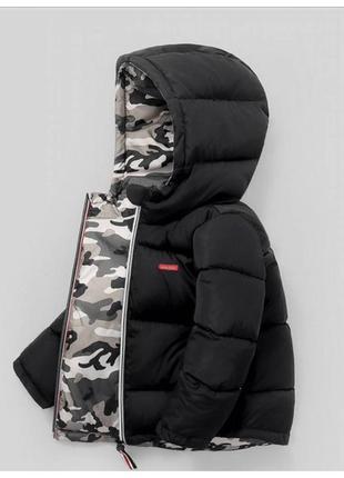 Куртка двосторонняя, єврозима