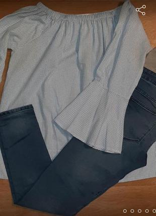 Джинси і блузка