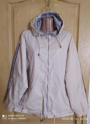 Куртка ветровка на трикотажной подкладке