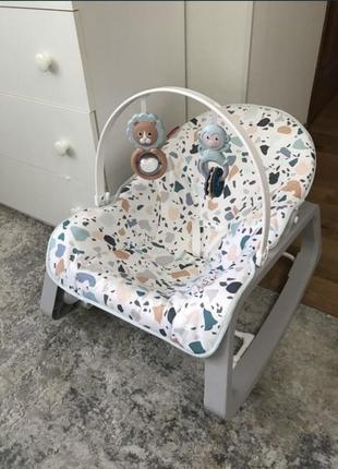 Массажное кресло качалка fisher-price