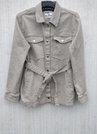Трендова бежева джинсова  кутрточка,джинсова бєжева курточка куртка