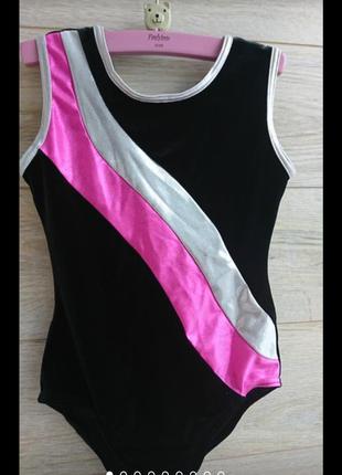 Велюровый бархатный нарядный купальник гимнастика спорт танцы tenetex англия купальник бархатный