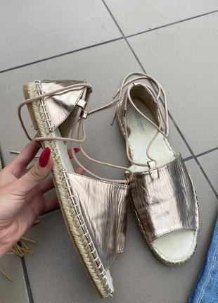 Босоножки сандали еспадрильи