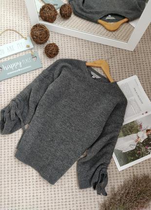 Красивый серый джемпер свитер dorothy perkins