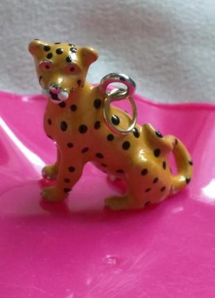 Подвеска кулончик леопард