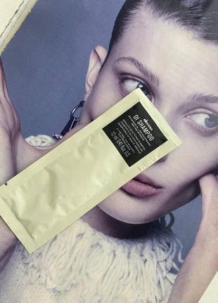 Шампунь для абсолютной красоты волос davines oi absolute beautifying shampoo with roucou oil