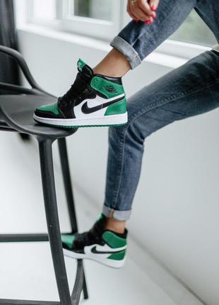 🖤🖤🖤 кроссовки  nike air jordan 1 retro high pine green
