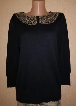 Красивая трикотажная женская кофта, джемпер laura ashley