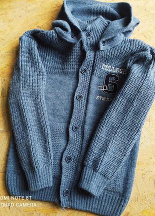 🔥новий теплий светр для хлопчика
