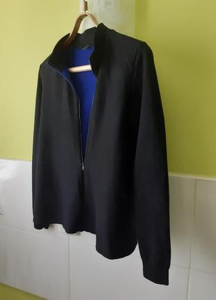 Плотный шерстяной свитер джемпер кофта кардиган от cos