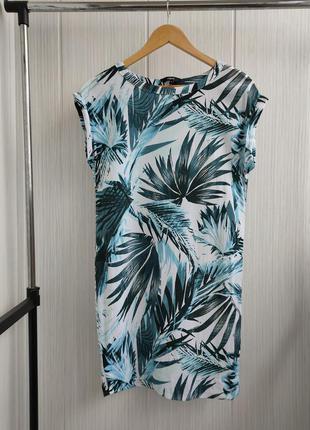 Свободное платье next прямого кроя из вискозы
