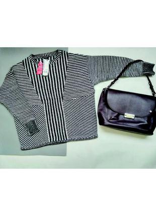 Мягенький женский свитер warehouse размер s-m, 100% хлопок