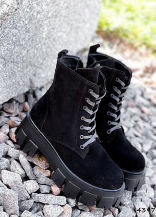 New! ботинки женские marisa замша