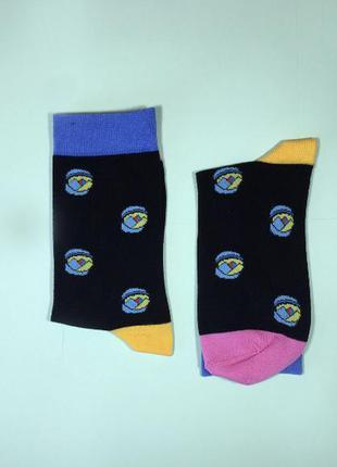 Носки разноцветные размер 40-45