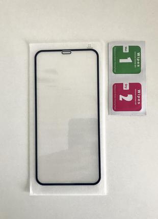 Защитное стекло 9h full coverage на iphone 11