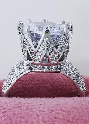Шикарное кольцо каратник 15, 16, 17, 18 размер