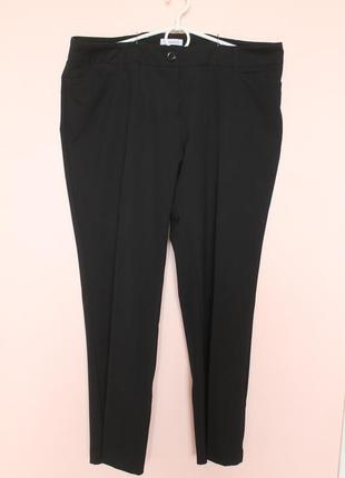 Чёрные классические брюки, штаны классика 52-54 р.