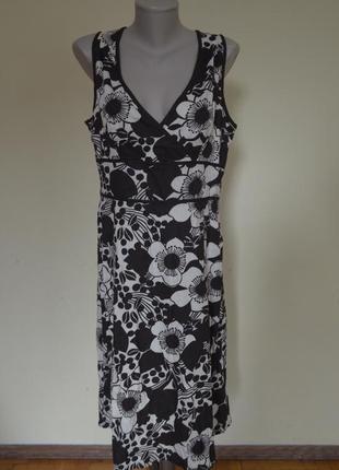 Красивое коттоновое брендовое качественное платье 100% коттон